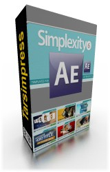 simplexity collection 6 for After effects , Digital Juice , محصولات دیجیتال جویس