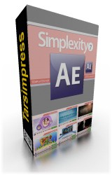 simplexity collection 7 for After effects , Digital Juice , محصولات دیجیتال جویس